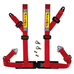 Cintura di sicurezza sportiva – E2 – Rosso