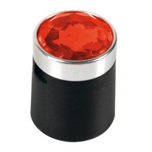 Colour Crystal, 20 copribulloni – Ø 17 mm – Rosso