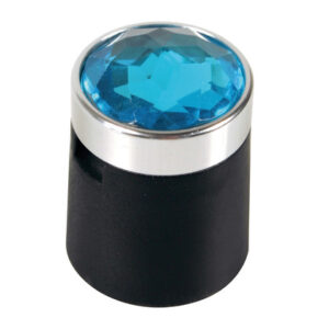 Colour Crystal, 20 copribulloni – Ø 17 mm – Blu
