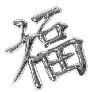Emblema 3D cromato – Lucky