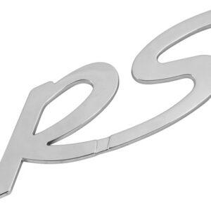 Emblema 3D cromato – RS