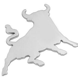 Emblema 3D cromato – Bull