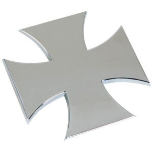 Emblema 3D cromato – Cross