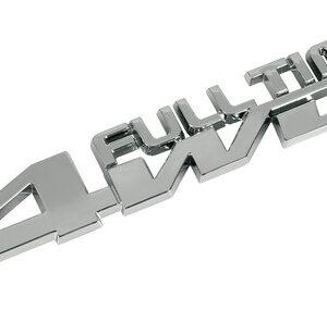 Emblema 3D cromato – Full Time 4WD
