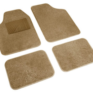 Cosmo, serie tappeti in moquette universali, 4 pz – Beige