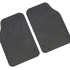 Drena 2, coppia tappeti anteriori universali – Grigio