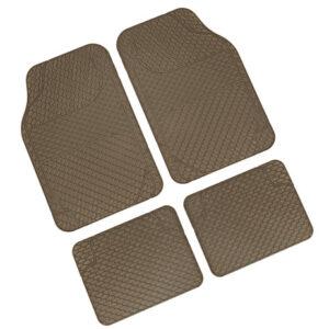 Drena 4, serie tappeti universali 4 pezzi – Beige