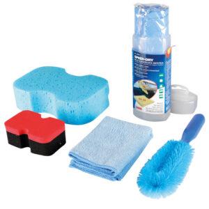 Kit 5 pezzi lavaggio e pulizia