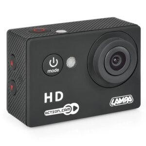 Action-Cam 1, telecamera per sport 720p + Kit accessori