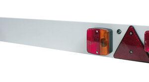 Barra per segnaletica posteriore 12V – 120×14 cm