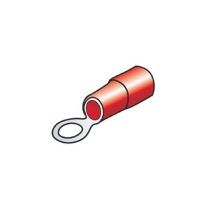 10 terminali – capicorda ad anello – Rosso