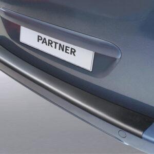 Protezione per paraurti –  Citroen Berlingo (furgone)- Paraurti verniciato (4/08>) –  Citroen Berlingo- Paraurti verniciato (4/08>) –  Peugeot Partner (furgone)- Paraurti verniciato (4/08>2/12) –  Peugeot Partner (furgone)- Paraurti verniciato (3/12>) –  Peugeot Partner Tepee – Paraurti verniciato (5/08>2/12) –  Peugeot Partner Tepee – Paraurti verniciato (3/12>)
