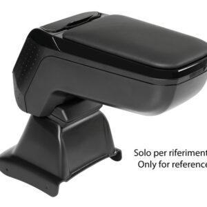 Armster 2, bracciolo su misura – Nero –  Abarth 595 (06/16>) –  Abarth 695 Biposto (06/16>) –  Fiat 500 (07/15>) –  Fiat 500C (07/15>)