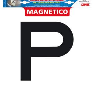 Contrassegno per esercitazioni guida, magnetico – Posteriore