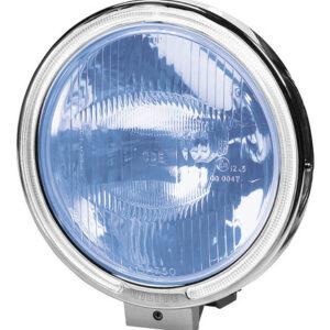 Angel-Eyes, Faro alogeno di profondit? con luce di posizione a 8 Led – Blu