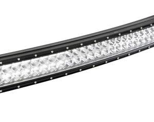 Barra a Led con struttura curva in alluminio, 10/30V – 80 cm