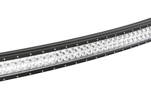 Barra a Led con struttura curva in alluminio, 10/30V – 110 cm