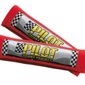 Pilot, coppia cuscini avvolgicintura – Rosso