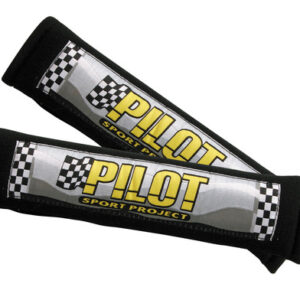 Pilot, coppia cuscini avvolgicintura – Nero