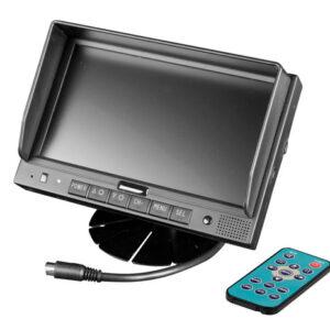 M1, Monitor LCD 7″, Cam 1
