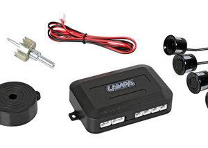 Buzzer R4, kit 4 sensori parcheggio posteriori, 12V