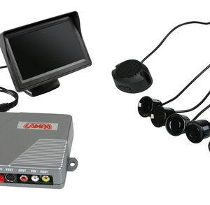 Setay RV4, sensori parcheggio con telecamera e monitor, 12V