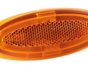 Luce ingombro a 4 led, montaggio in superficie, 12/24V – Arancio