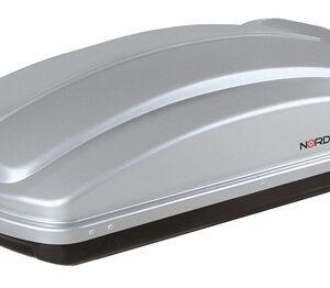 Box 330, box tetto in ABS, 330 litri – Grigio goffrato