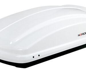 Box 330, box tetto in ABS, 330 litri – Bianco lucido