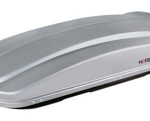 Box 430, box tetto in ABS, 430 litri – Grigio goffrato