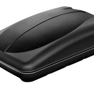 Box 280, box tetto in ABS, 280 litri – Nero goffrato