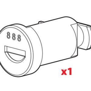 Cilindro serratura serie N