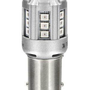12V LEDriving Retrofit Led Standard – (PY21W) – BAU15s – 2 pz  – Blister – Arancio