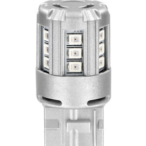 12V LEDriving Retrofit Led Standard – (W21W) – W3x16d – 2 pz  – Blister – Rosso