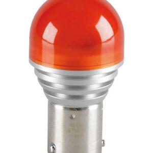 12V LEDriving – (PY21W) – 4W – BAU15s – 1 pz  – Blister – Arancio