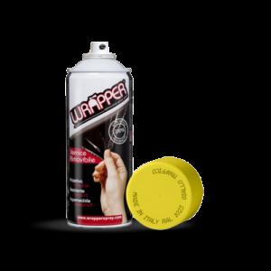 Wrapper, pellicola spray rimovibile, 400 ml – Giallo traffico – Ral 1023