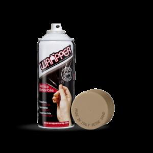 Wrapper, pellicola spray rimovibile, 400 ml – Beige sabbia