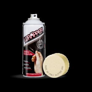Wrapper, pellicola spray rimovibile, 400 ml – Glitter oro