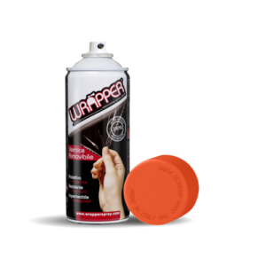 Wrapper, pellicola spray rimovibile, 400 ml – Arancio puro – Ral 2004