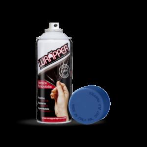 Wrapper, pellicola spray rimovibile, 400 ml – Blu traffico – Ral 5017