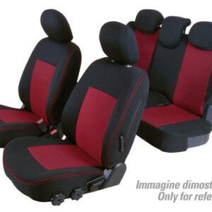 Set coprisedili Superior – Nero/Rosso – Mitsubishi Pajero 5p (11/06>)