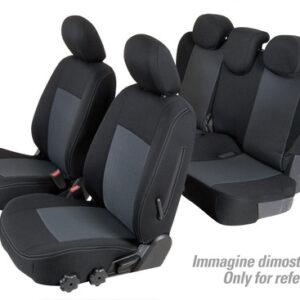 Set coprisedili Superior – Nero/Grigio – Mitsubishi Pajero 5p (11/06>)